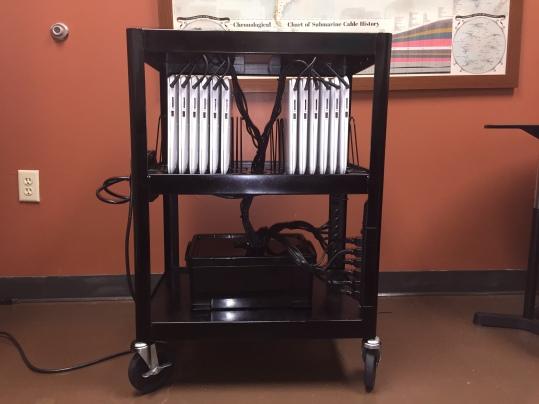 Chromebook cart